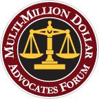 Badge representing Holton Law Firm's affiliation with Multimillion Dollar Advocates